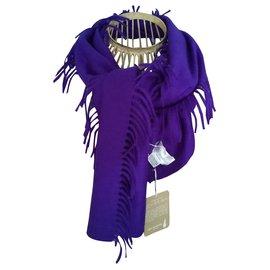 Eric Bompard-Scarves-Purple