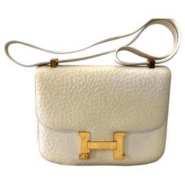 Hermès-Constance Beluga-Blanc