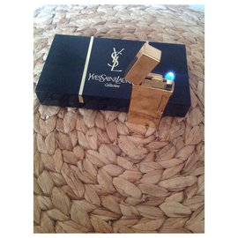Yves Saint Laurent-gold plated-Golden