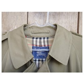 Burberry-Burberry trenchcoat khaki vintage t 48 immaculate condition-Khaki