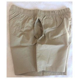 Burberry-BURBERRY MEN'S SWIM SHORTS-Beige