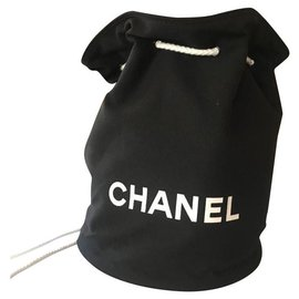 Chanel-Sac à dos Chanel neuf-Noir