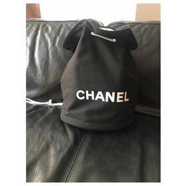 Chanel-Chanel backpack-Black