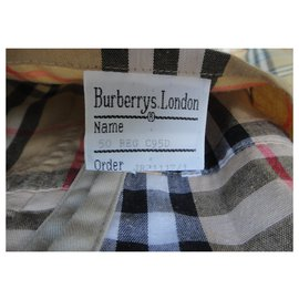 Burberry-Waterproof Burberry vintage size 50-Beige