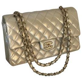 Chanel-Sac à rabat doublé Timeless Classic Medium avec boîte Chanel et dustbag-Autre