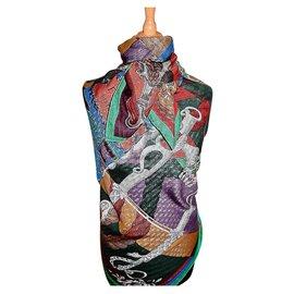 Hermès-CAVALLERIA d'ÉTRIERS-Multicolore