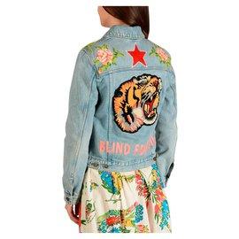 Gucci-Gucci denim jacket new-Blue