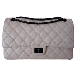 Chanel-Chanel bag 2.55-Cream