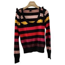 Sonia Rykiel pour H&M-Striped multicolor sweater Sonia rykiel for H & M-Multiple colors