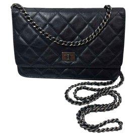 Chanel-Woc-Noir,Bleu foncé