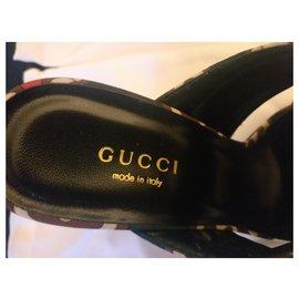 Gucci-Mules Gucci-Noir