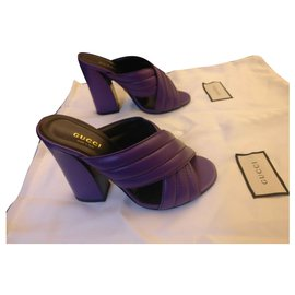 Gucci-Mules Gucci-Violet