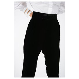 Saint Laurent-Pantalon Saint Laurent nouveau-Noir