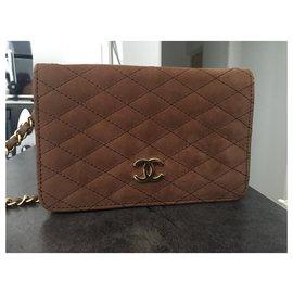 Chanel-Clutch bags-Caramel