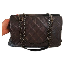 Chanel-Shopping-Gris anthracite