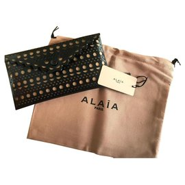 Alaïa-pochette Alaïa-Noir