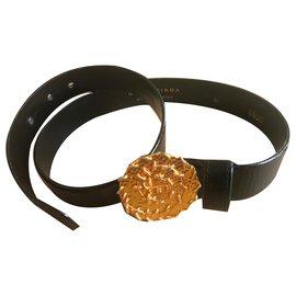 Balenciaga-ceinture noire balenciaga-Noir