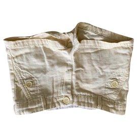 Bonpoint-Pantalons-Jaune