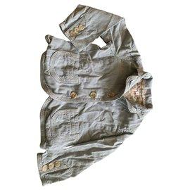 Bonpoint-Einteilige Jacke-Hellblau