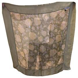 Giorgio Armani-Silk scarves-Green