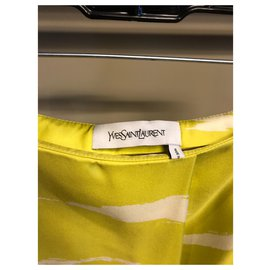 Yves Saint Laurent-Skirts-Green