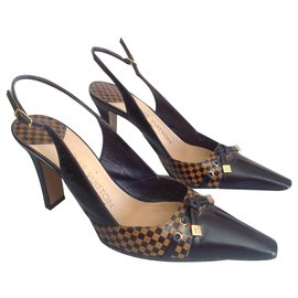 Louis Vuitton-ESCARPINS-Noir