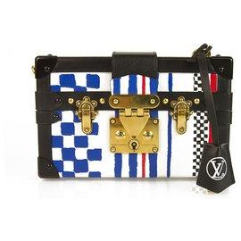 Louis Vuitton-Sac à main Louis Vuitton Petite Malle Grand Prix édition ultra limitée-Multicolore