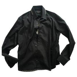 Alexander Mcqueen-McQueen Shirt new-Black