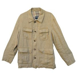 Burberry-Sahara jacket Burberry size L-Beige