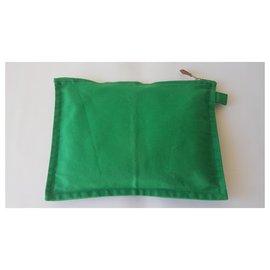 Hermès-Clutch-Taschen-Grün