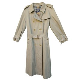 Burberry-vintage Burberry trench 46-Beige