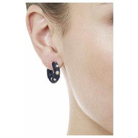 Céline-Céline Byzantine Enamel Crystal Earrings-Blue