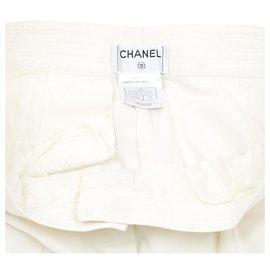 Chanel-WHITE FRINGES FR42/44-White