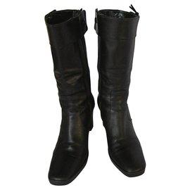 Balenciaga-Balenciaga boots-Black
