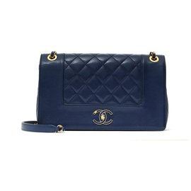 Chanel-TIMELESS DIANA LIMITED EDITION NAVY-Navy blue
