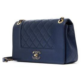 Chanel-TIMELESS DIANA LIMITED EDITION NAVY-Bleu Marine