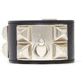 Hermès-MEDOR CDC S BLACK SILVER NEW-Noir,Argenté