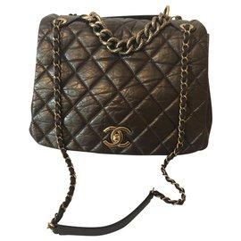 Chanel-Chanel-Bronze,Dark brown