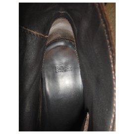 Hugo Boss-deset boot Hugo Boss-Dark brown