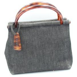 Chanel-Handbags-Dark grey