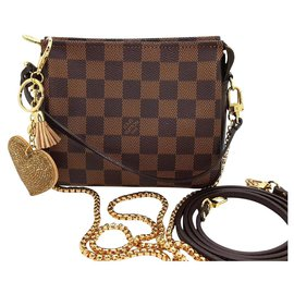 Louis Vuitton-Trousse makeup-Marron