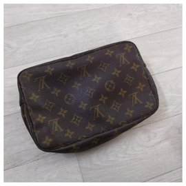 Louis Vuitton-Trousse toilette 23-Marron