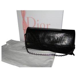 Christian Dior-Pochettes-Noir
