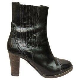 Chloé-Chloe botines-Black