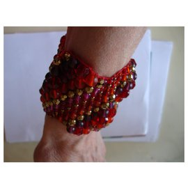 inconnue-Armbänder-Rot