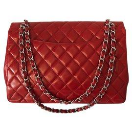 Chanel-Maxi Jumbo-Red