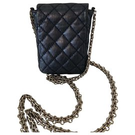 Chanel-mini-Blue,Dark blue