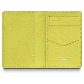 Louis Vuitton-Louis Vuitton mens wallet-Yellow