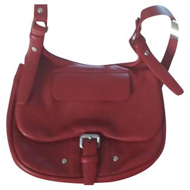 Longchamp-Sacs à main-Rouge