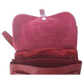Longchamp-Handbags-Red